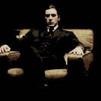 Al Pacino, Michael Corleone Canvas Art Print