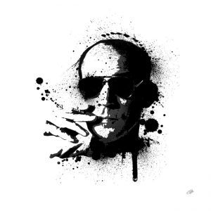 Hunter S. Thompson Canvas Art Print