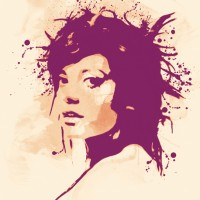 Lily Allen Canvas Art Print