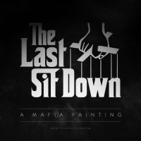 The Last Sit Down - A Mafia Painting
