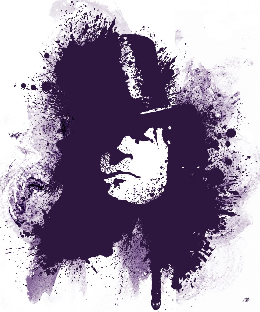Marc Bolan T Rex Canvas Print By Lja Canvas Art