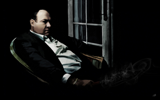 tony soprano canvas prints by lja canvas art