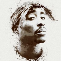 Tupac Shakur Canvas Art Print