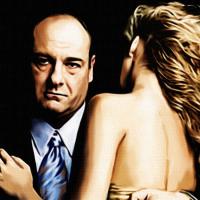 Tony Soprano Canvas Print Detail