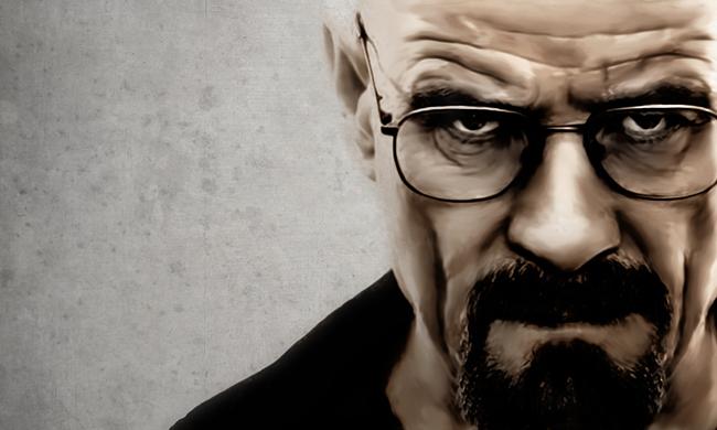 Heisenberg breaking bad art print