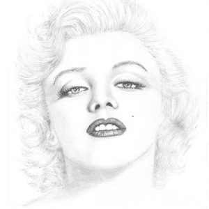 marilyn-monroe-pencil-art