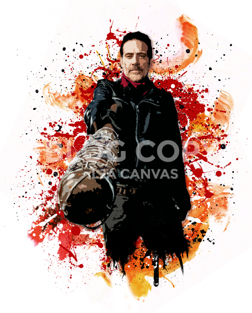 negan-canvas-art-print