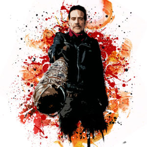 walking-dead-negan-canvas-art-print
